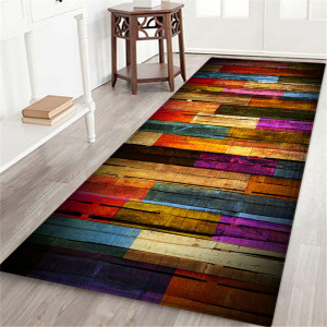9 style Living room/bedroom Antiskid Soft Solid Rug Carpet Hallway Doormat Anti - Slip Carpet Absorb Water Kitchen Mat 60X180 CM(China)