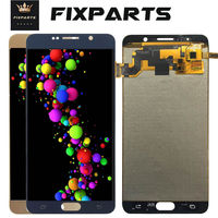For 5.7 Samsung Galaxy NOTE 5 N920 N920F LCD Display Touch Screen Digitizer Assembly Note5 Replace TFT For SAMSUNG NOTE 5 LCD