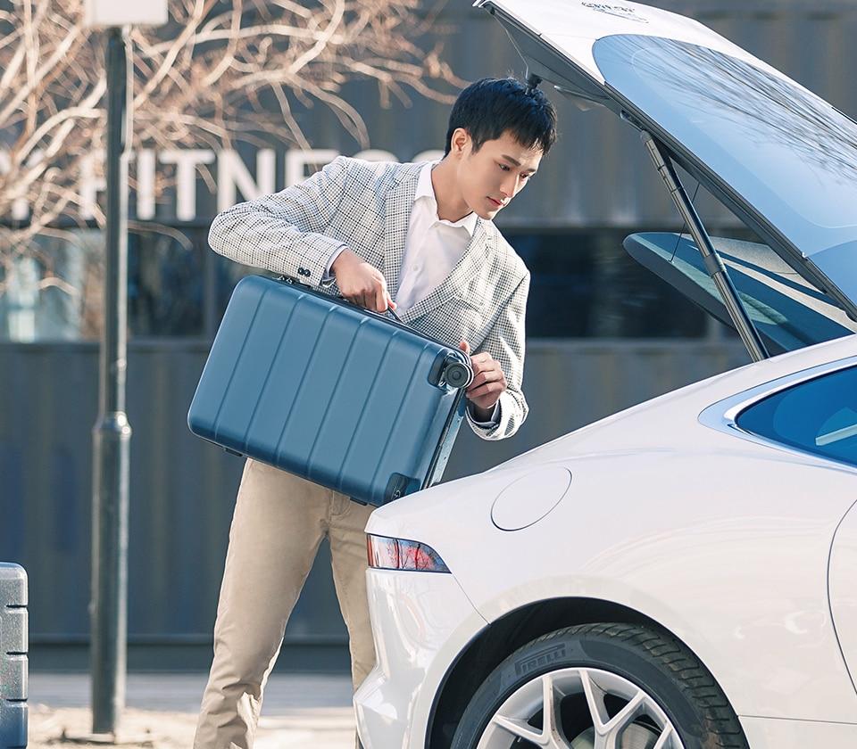 """Mi luggage 20"""" grey/blue/black -Global"""