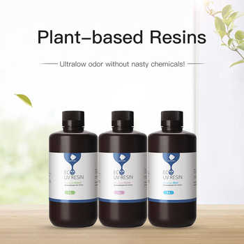 ANYCUBIC Plant-based 405nm UV Resin For Photon Photon-S 3D Printer Printing Material LCD Plant-Based Resins 500 ml/1L Liquid