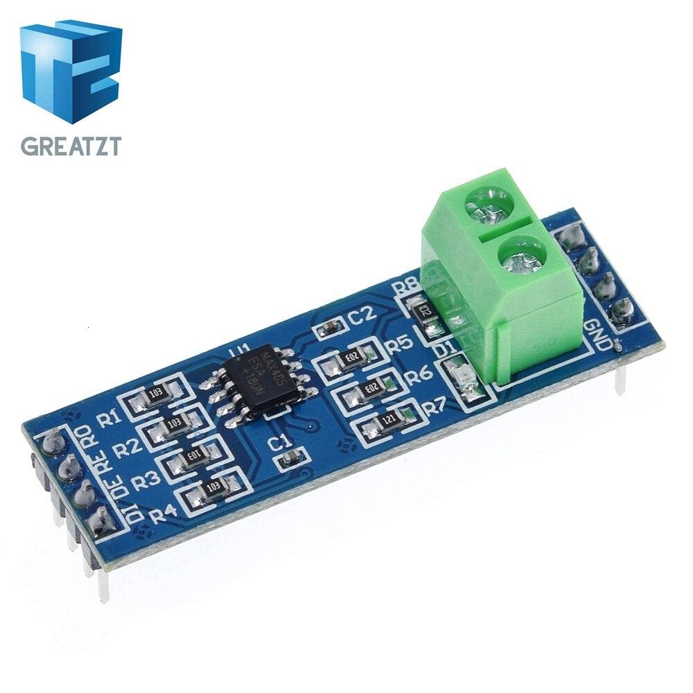 5 pces módulo max485 RS 485 ttl volta para rs485 max485csa conversor módulo para arduino microcontrolador mcu desenvolvimento acessórios|Circuitos integrados|   -