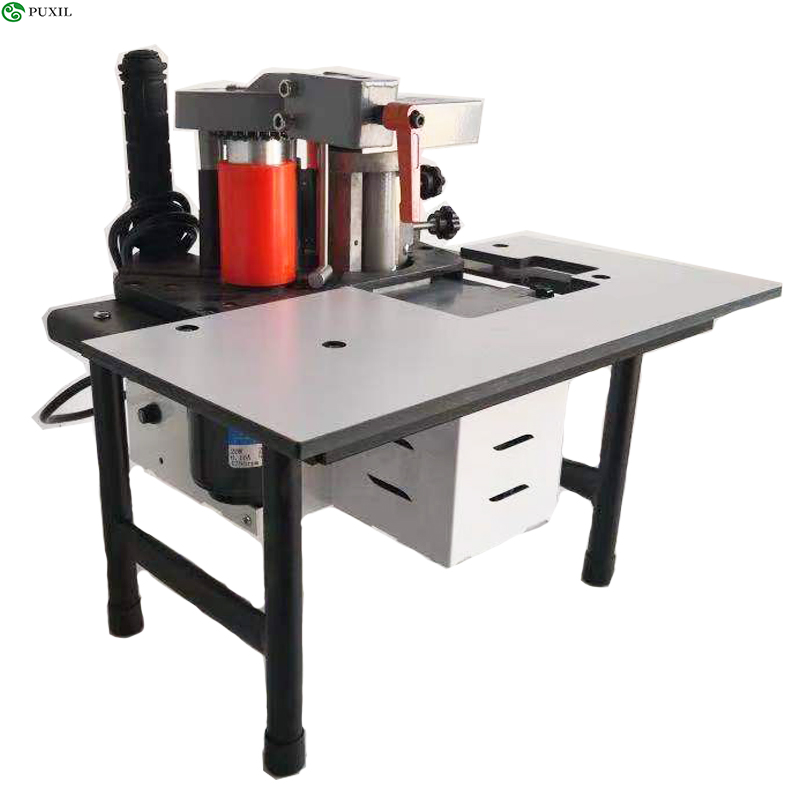 Small Manual Edge Banding Machine Double Sided Portable Edge Gluing Machine For Woodworking Edge Banding Machine 220V 1100W