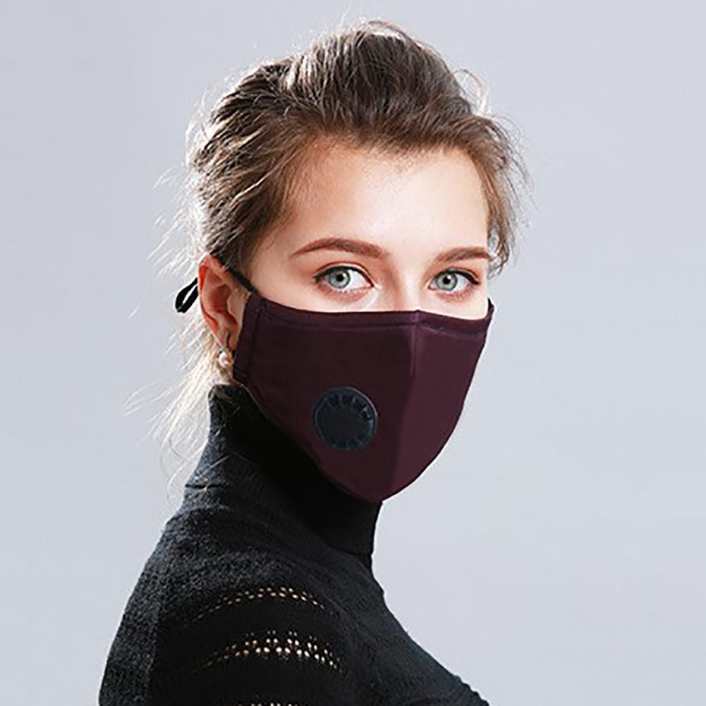 Dust Mask Respirator Anti-pollution Mouth Mask Washable Reusable Cotton Face Masks, Unisex Mouth Muffle For Allergy/Riding