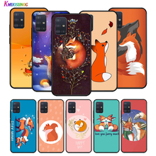 Silicone Cover The Little Prince Cute Fox for Huawei P40 P30 P20 Lite E Pro P Smart Z Plus 2019 P10 P9 Phone Case