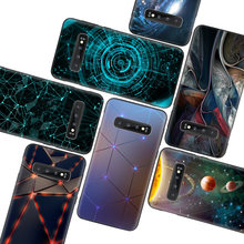 Dark Nignt Star Black Case for Samsung Galaxy S10 Lite Note 10 9 8 S9 S8 J4 J6 J8 + Plus S7 S6 Silicone Phone Case(China)