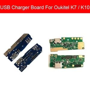 Image 1 - Usb充電 & マイクジャックポートボードoukitelためK7 K10 usb充電器コネクタモジュールusb充電器ボードの交換修理