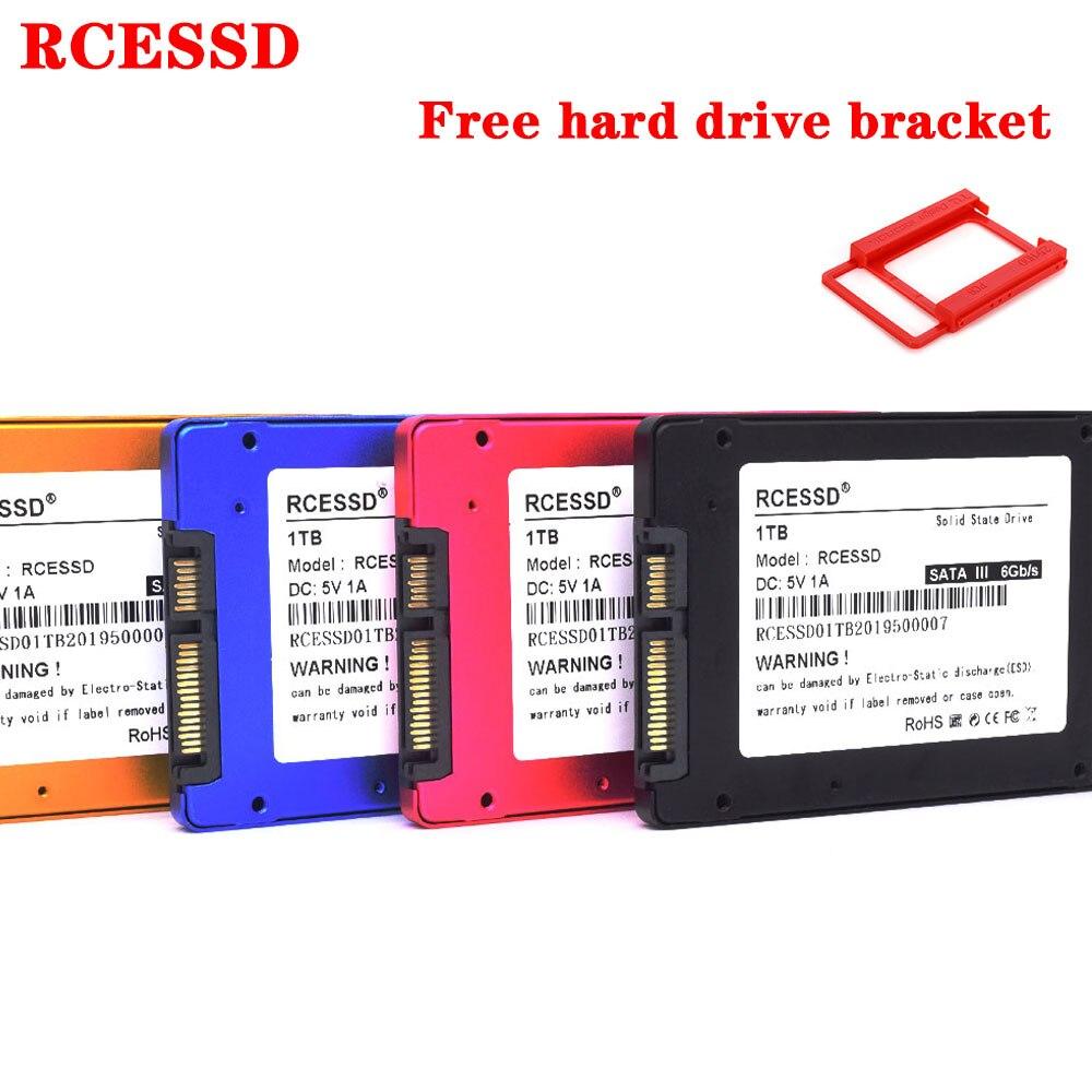 RCESSD Metal SSD 2.5-inch SATA3 120GB 128GB 240GB 256GB 360GB Internal Solid State Drive HDD 64GB 480GB SSD SATAIII 512GB 1TB