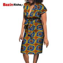 Размера плюс африканские платья для женщин wy8403