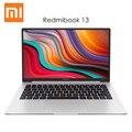 Original Xiaomi RedmiBook 13 Laptop Windows 10 Intel Core i5 - 10210U i7 - 10510U CPU 8GB DDR4 RAM 512GB SSD Notebook 13.3 inch