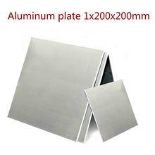 1 шт 1x200x200 мм лист из алюминиевого сплава diy фурнитура