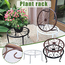Stands-Set Potted-Holder Flower-Pot Gardening-Decorations Plant Metal Outdoor for Heavy-Duty