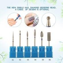 Burr Milling Manicure Cutter Nail Pedicure Bit Electric Drill Machine Accessory Nail
