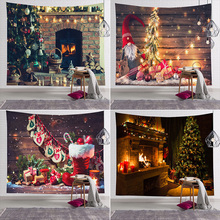 Tapestry Wall-Carpet Hanging Home-Decoration Sale-Christmas Xmas Bedspread Cloth-Background-Cloth