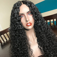 Curly Lace Front Human Hair Wigs For Black Women Brazilian Remy Lace Wigs Frontal Pre Plucked Full End 360 Lace Frontal Wigs cheap Sassoon BoB Long Lace Front wigs Remy Hair Half Machine Made Half Hand Tied Darker Color Only Swiss Lace 1 Piece Only