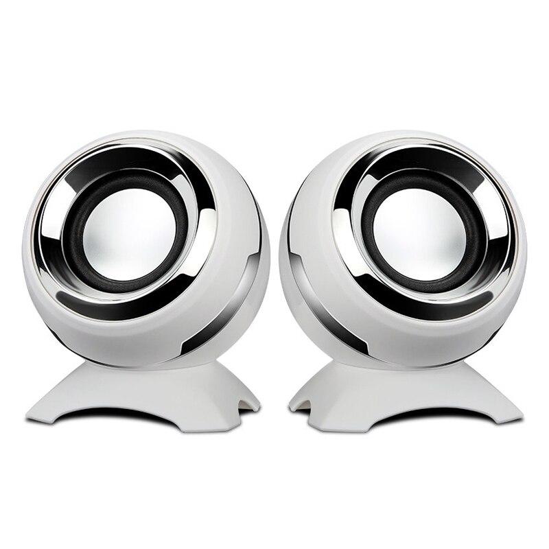 USB Powered Wired Mini Computer Speaker Bass Horns For Laptop Desktop Phone Powerful Speaker High Fidelity Sound Box