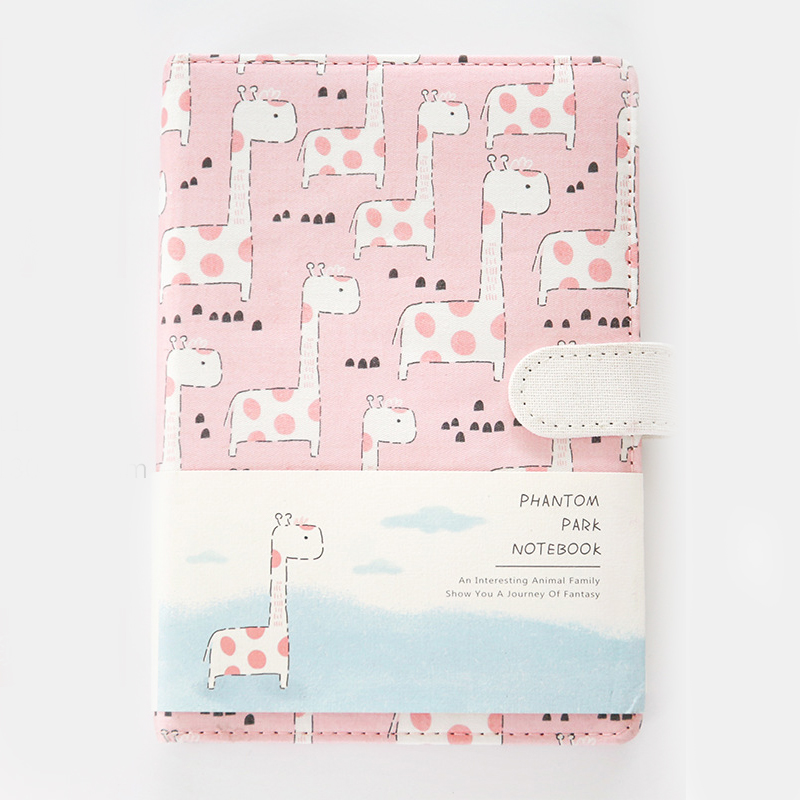 Dreamland Notebook Hand Book Student Cloth Color Page Diary Notebook