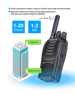 Image 3 - Retevis H777 Più PMR446 Portatile Walkie Talkie 20 pcs H777 Walkie Talkie Two Way Radio Hotel/Ristorante/supermercato/di Sicurezza