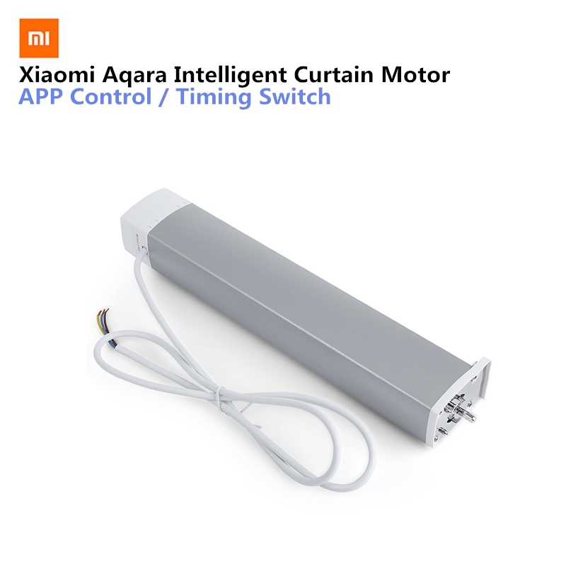 Aqara controlador de cortina inteligente inteligente do motor da cortina zigbee versão casa inteligente mi smarphone app controle remoto