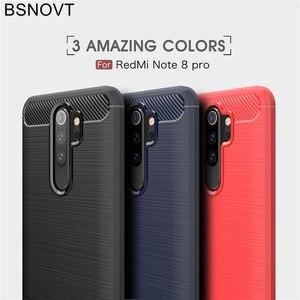 """Image 5 - Pour Xiaomi Redmi Note 8 Pro étui en Silicone souple pour Xiaomi Redmi Note 8 Pro étui pour Redmi Note 8 Pro 6.53 """"BSNOVT"""
