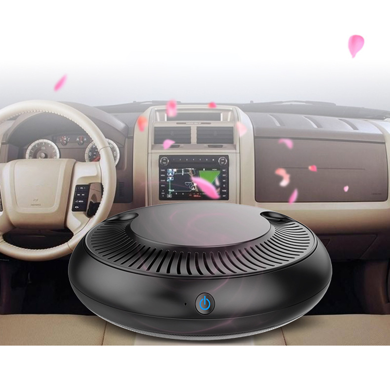 Car Air Purifier Filter Freshener Cleaner 12V Negative Ionizer Auto Mist Maker Pm2.5 for Dust Pollen Smoke Oder Allergy Virus