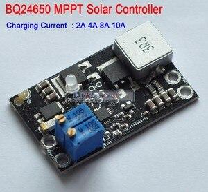 Image 2 - Контроллер солнечной панели DYKB BQ24650 10A MPPT, литий ионный Аккумулятор LiFePO4, свинцово кислотная зарядка, 12 В 24 В, понижающий модуль, регулируемый