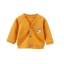 Coat Baby Jacket Cardigans Sweater Knitwear Toddler Girls Boys Children Autumn And New
