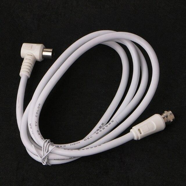 Фото кабель для спутниковой антенны коаксиальный 90 градусов 95 мм