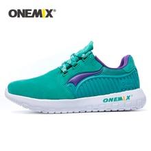 ONEMIX 2020 году мужчин легкие кроссовки на открытом воздухе мех союзка бег ходьба кроссовки гибкий мягкий воздухопроницаемый