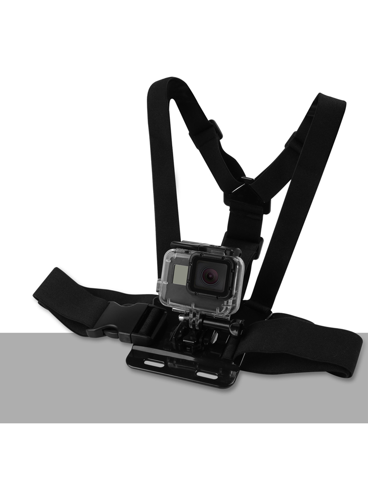SHOOT Adjustable Harness Chest Strap Head Strap Belt for GoPro Hero 9 8 7 5 Black Xiaomi