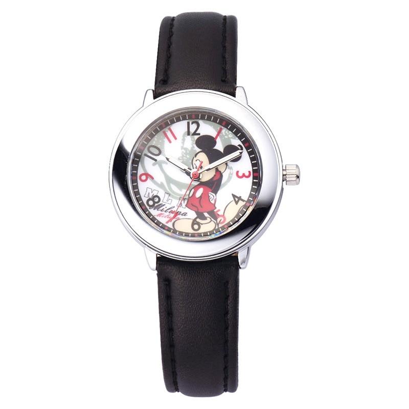 Оригинал Disney Дети% 27 часы Девочки Девочки Начальная Школа Школьники Мультфильм Часы Дисней Микки Дети% 27 Часы Мальчики