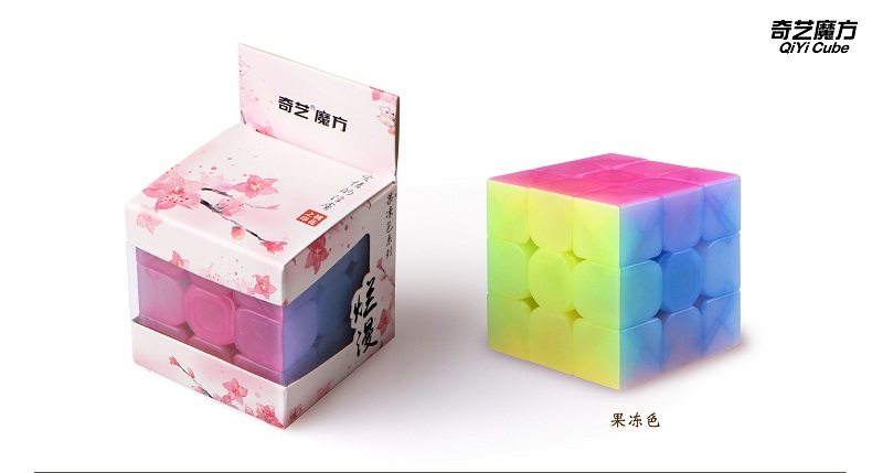 QiYi Warrior W 3x3x3 carbon fibre Professional Magic Cube Competition 3x3 Speed Puzzle Cubes Toys For Children Kids Best Gift 8