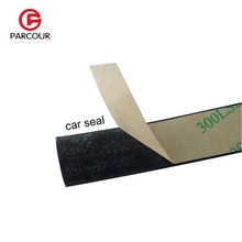 Car Sealing Strip for Front Windshield Panel EPDM Rubber Flat Seal Waterproof and Weatherproof Sealant Strip to Protect Auto