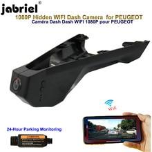 Jabriel 1080P Hidden dash cam Wifi car dvr Car Camera for PEUGEOT 4008 5008 Citroen c5 x7 aircross berlingo 2015 2016 2018 2019