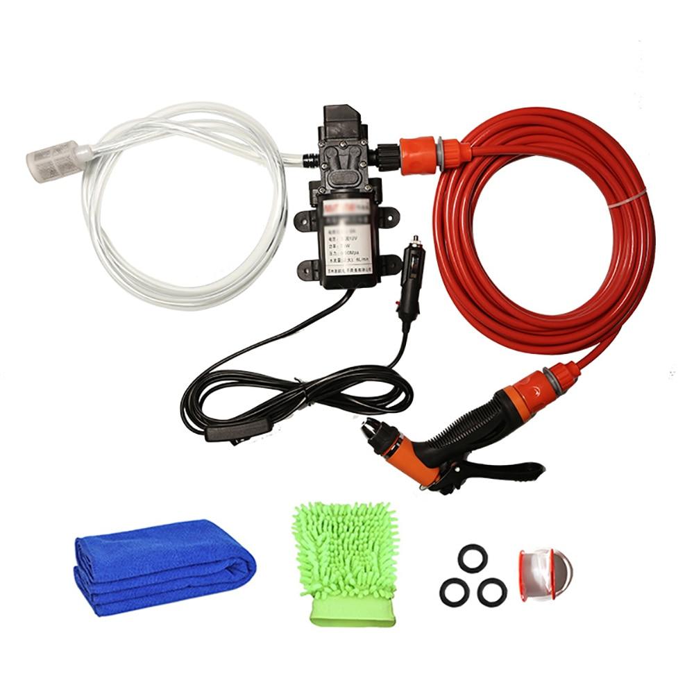 High Pressure Electric Car Wash Washer 6L/min Self-priming Water Pump 12V Washing Machine