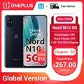 Чехол из ПВХ для OnePlus Nord N10 5G смартфон глобальная версия 6 ГБ 128 Snapdragon 690 90 Гц Дисплей 64MP Quad камеры Warp 30T NFC мобильные телефоны