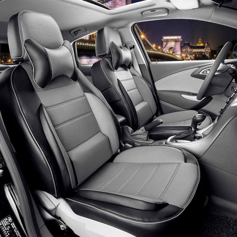 04+ VOLKSWAGEN CADDY VAN SINGLE HD BLACK SEAT COVERS PROTECTORS CAR SEATS