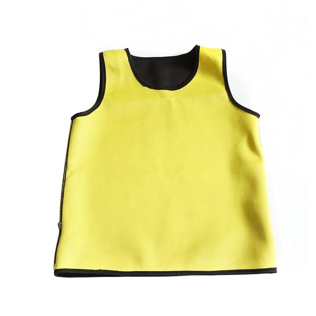 Mens Body Shaper Vest Modeling Fat Burning TShirt Black Slimming Belt Belly Sweat Weight Loss Waist Trainer 4