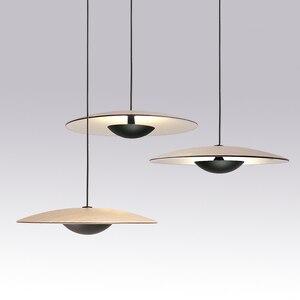 Image 2 - מפורסם מעצב אישיות יחידה creative מסעדת תליון מנורת פשוט נורדי סגנון קפה שולחן אוכל אופנה תליון אור
