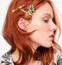 Набор из 3 предметов стразы заколки для волос модные в форме