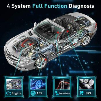 LAUNCH CRP123I OBD2 Diagnostic Scanner Engine ABS SRS Transmission Car Diagnosis Tools Automotive Scanner OBD OBDII Tools CRP123