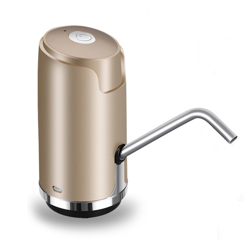 HTHL-Automatic Electric Portable Water Pump Dispenser Gallon Drinking Bottle Switch Usb Charging Pump