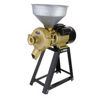 3500w 150 type grinder bean grinder rice pulper corn grain beater steel grinder multi function wet and dry grinding machine 220v