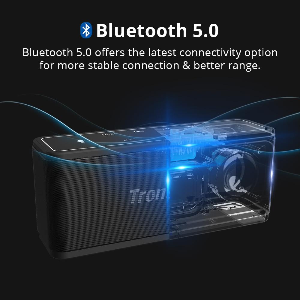 Tronsmart Mega TWS Bluetooth 5.0 Speaker 40W Portable Speaker Colums Touch Control Wireless Soundbar Voice Assistant NFC MicroSD (21)