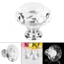 Kitchen Cabinet Drawer Pulls 10Pcs Crystal Glass Cabinet Knobs Drawer  Knobs Cupboard Handles Set