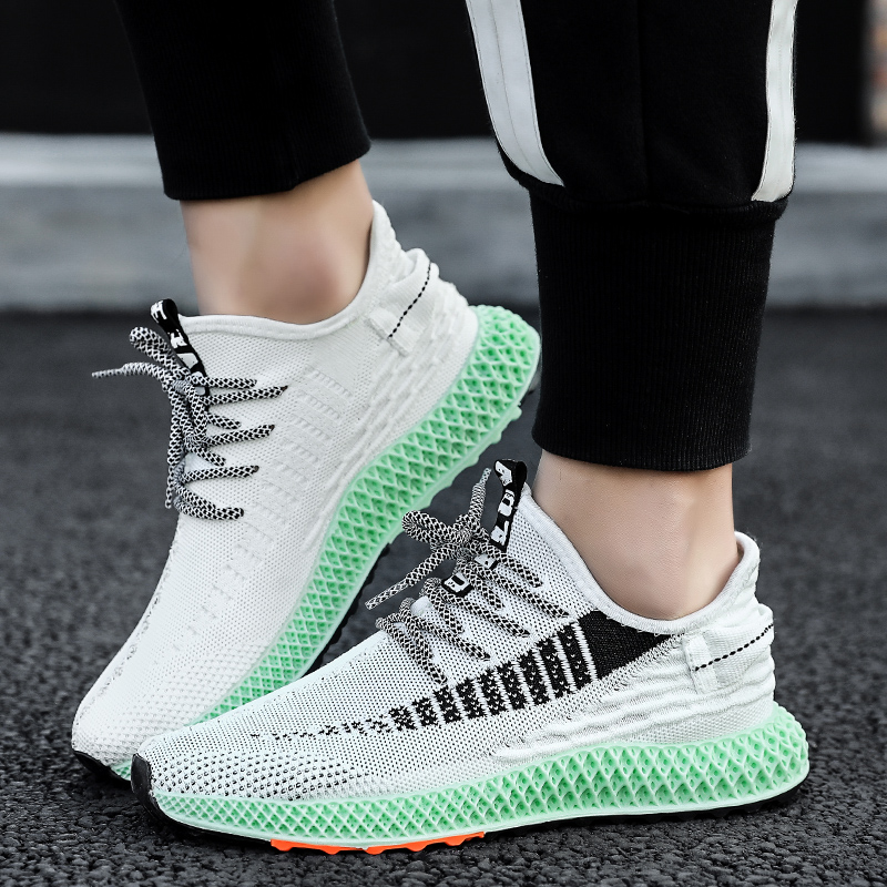 <font><b>4D</b></font> Printed Soles Sport <font><b>Shoes</b></font> Men Breathable Free Run Bounce Sneakers Outdoor Fitness Trainers Jogging 16 Styles Running <font><b>Shoes</b></font> image