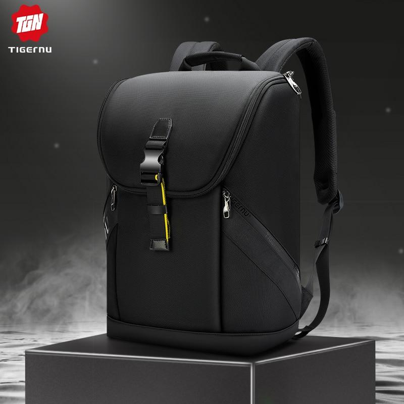 Tigernu 2020 Waterproof Men Backpack High Quality 15.6 inch Laptop Backpack Kroean Fashion Backpack Teenager Bag Male Mochilas Backpacks  - AliExpress