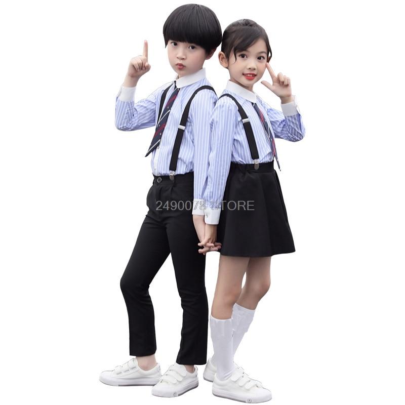 Brand Formal Boys Birthday Dress School Girls Performance Uniform Kids  Ceremonial Wedding Skirt Shirts Set Bowtie Children Suit|child suit|formal  boyboys birthday dress - AliExpress