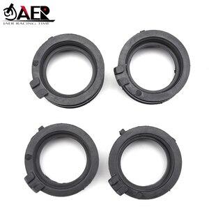 Image 3 - JAER Motor Carburetor Interface Adapter Intake Manifold Pipe Rubber Clamp For Honda 16211 MV9 670 CBR600 CBR 600 F2 F3 1991 1998