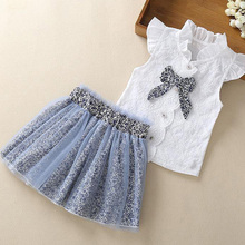 Leopard Baby Girls Clothes Summer Fashion Baby Girls Kid Short Sleeve T-shirt Patchwork Dress Short Dresses Princess Tutu Dress