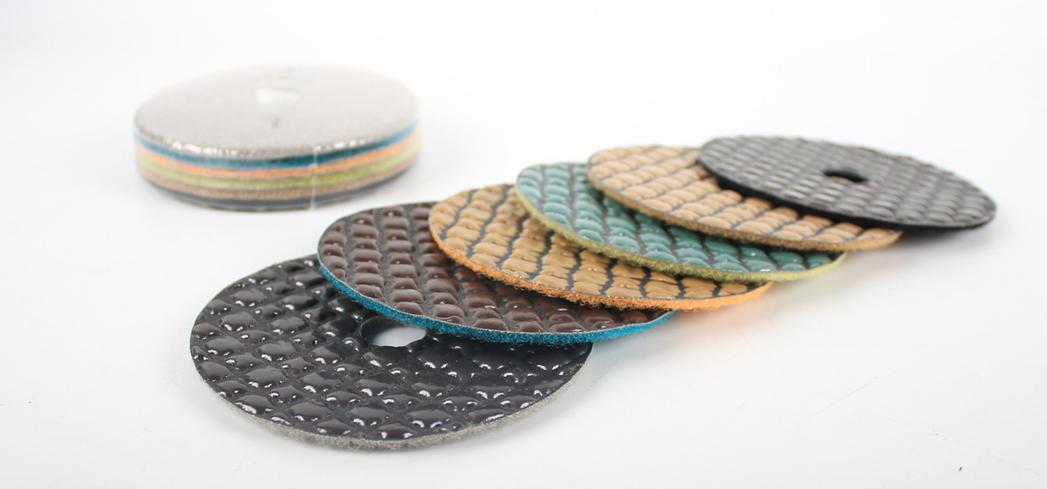 80/100 mm 5 step Dry polishing pads/disc for Granite, Marble, Engineered Stones.
